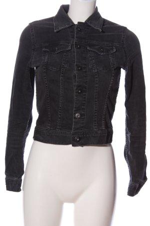 Adriano Goldschmied Denim Jacket black casual look