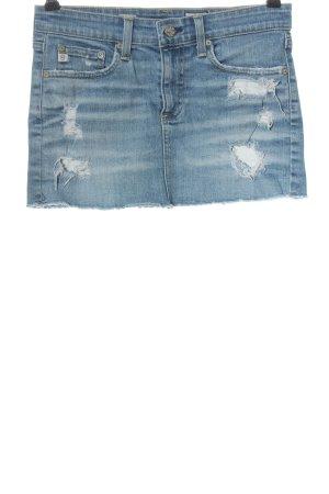 Adriano Goldschmied Denim Skirt blue casual look