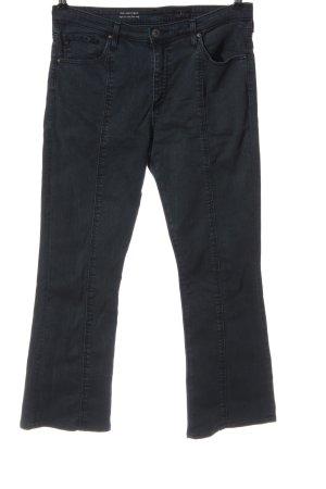 Adriano Goldschmied Jeansschlaghose blau Casual-Look
