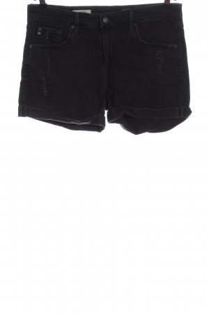 Adriano Goldschmied Jeansowe szorty czarny W stylu casual