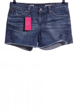 Adriano Goldschmied Jeansshorts blau Casual-Look