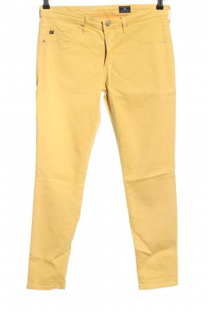 Adriano Goldschmied Jeggings blassgelb Casual-Look