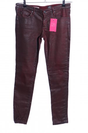 Adriano Goldschmied Leggings rot Casual-Look