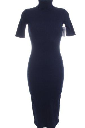 Adriano Goldschmied Maxi-jurk blauw gestreept patroon klassieke stijl