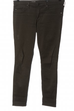 Adriano Goldschmied Drainpipe Trousers khaki elegant
