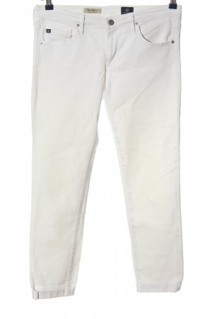 Adriano Goldschmied Drainpipe Trousers white casual look