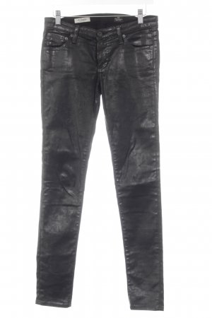 Adriano Goldschmied Pantalon cigarette noir style seconde main