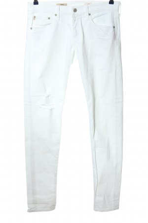 Adriano Goldschmied Tube Jeans white casual look