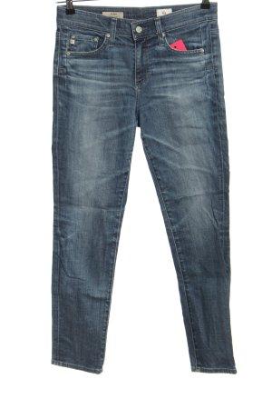 Adriano Goldschmied Jeansy rurki niebieski W stylu casual