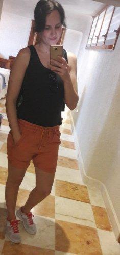 Adriano Goldschmied Shorts orange-apricot