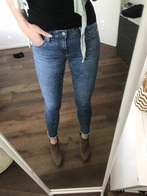 Adriano Goldschmied Skinny Jeans 25-26 blau Luxus wie neu