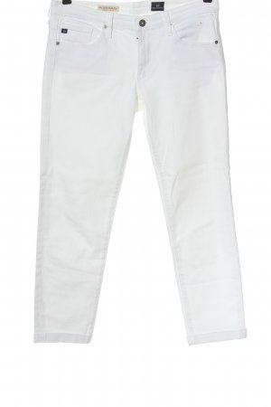 Adriano Goldschmied Skinny Jeans white casual look