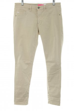Adriano Goldschmied Jeans skinny blanc cassé style simple