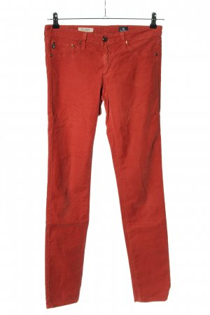 Adriano Goldschmied Jeans skinny rouge style décontracté