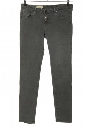 Adriano Goldschmied Jeans skinny gris clair style décontracté
