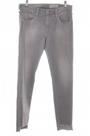 Adriano Goldschmied Skinny Jeans grau Washed-Optik