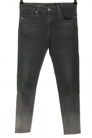Adriano Goldschmied Skinny Jeans black-light grey color gradient casual look