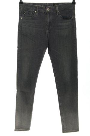 Adriano Goldschmied Skinny Jeans schwarz-hellgrau Farbverlauf Casual-Look