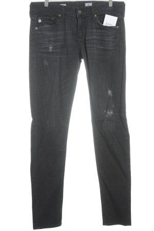 Adriano Goldschmied Skinny jeans zwart tweedehandse uitstraling