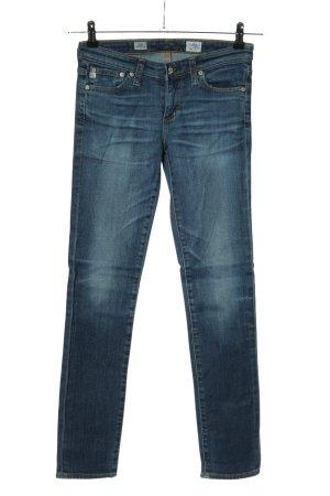 Adriano Goldschmied Slim Jeans blau Casual-Look