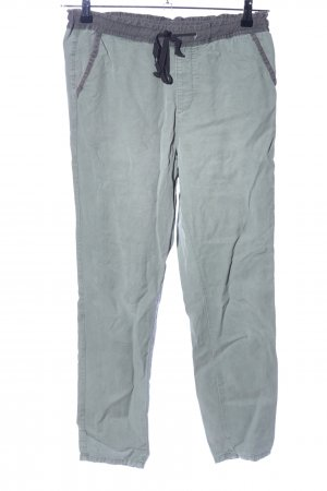 Adriano Goldschmied Jersey Pants green-light grey casual look