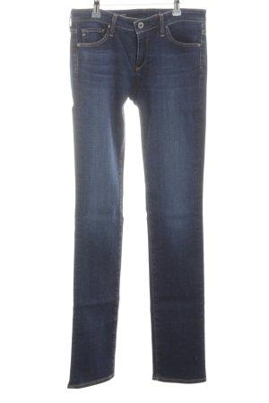 Adriano Goldschmied Straight-Leg Jeans blau Casual-Look