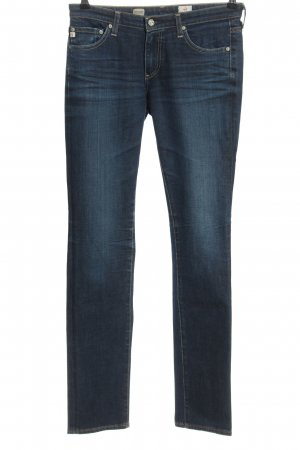 Adriano Goldschmied Straight-Leg Jeans blau Casual-Look