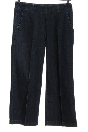 Adriano Goldschmied Straight-Leg Jeans schwarz meliert Casual-Look