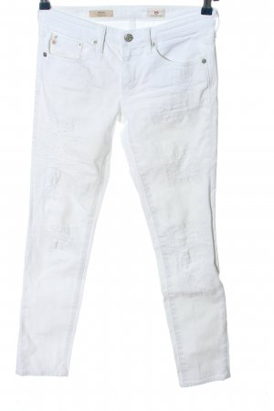 Adriano Goldschmied Slim Jeans white casual look