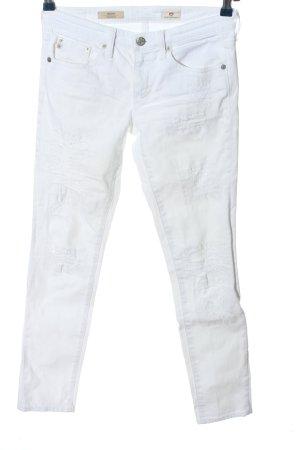 Adriano Goldschmied Slim Jeans weiß Casual-Look