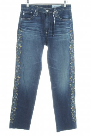 "Adriano Goldschmied Straight-Leg Jeans ""The Isabelle"" blau"