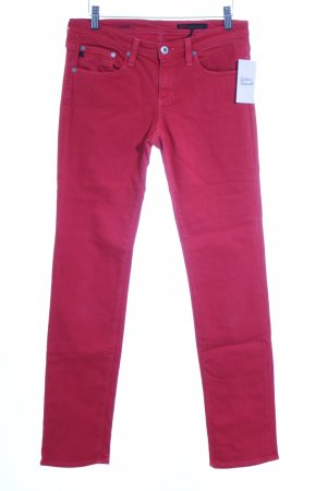 "Adriano Goldschmied Straight-Leg Jeans ""the stilt"" rot"