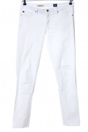 Adriano Goldschmied Stretch Trousers white casual look