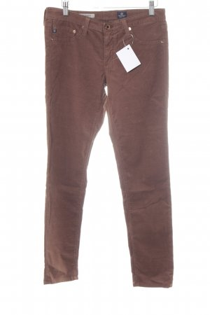 Adriano Goldschmied Stretchhose braun Casual-Look