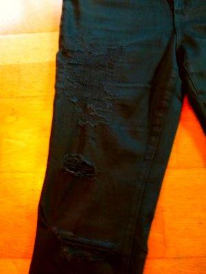 Adriano Goldschmied Boyfriend Jeans black cotton
