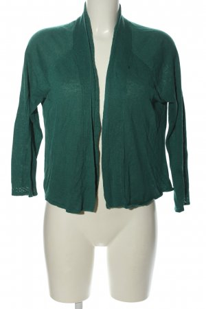 Adrienne Vittadini Knitted Cardigan green casual look