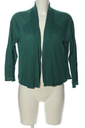 Adrienne Vittadini Strick Cardigan grün Casual-Look