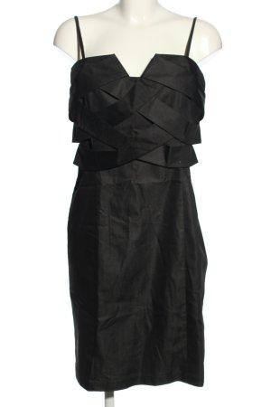 Adrienne Vittadini Pinafore dress black elegant