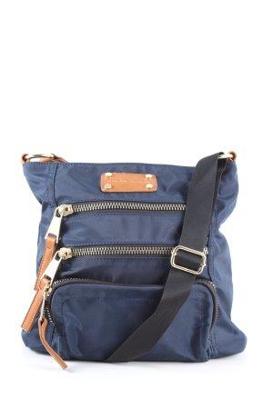 Adrienne Vittadini Crossbody bag blue-brown casual look