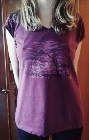 Sir Oliver Shirt met print paars