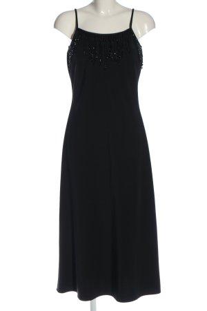 ae elegance Vestido de noche negro elegante