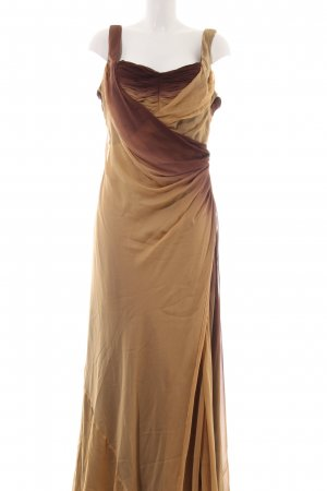 ae elegance Evening Dress light orange-bronze-colored color gradient elegant