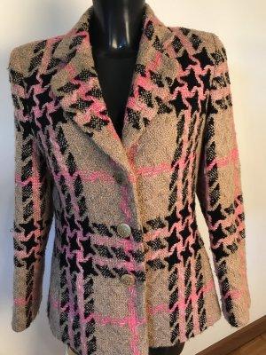 Elegance Prestige Blazer in lana multicolore