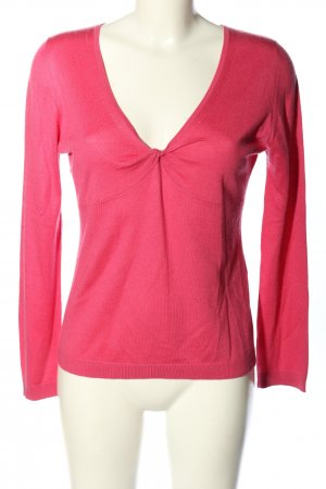 ae elegance Pullover in cashmere rosa stile casual