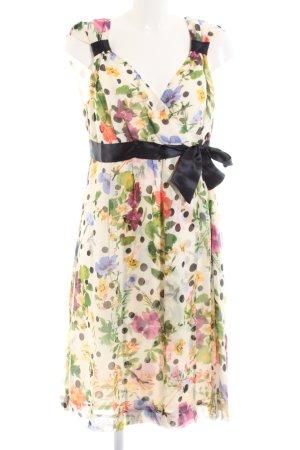 ae elegance Chiffon jurk Patroon-mengeling elegant
