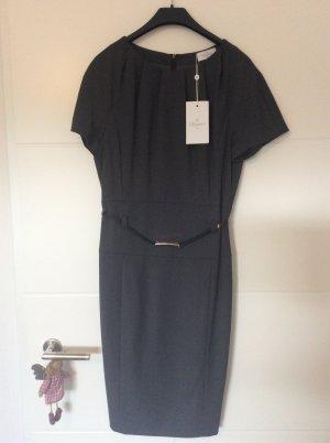 ae elegance Vestido ceñido de tubo gris oscuro