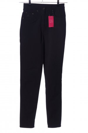 ae elegance Five-Pocket-Hose schwarz Casual-Look