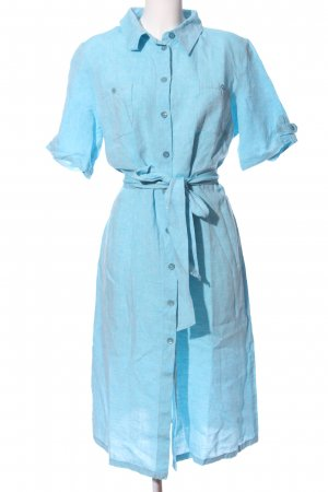 ae elegance Shirtwaist dress blue casual look