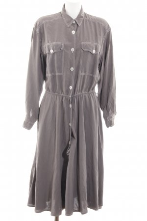 ae elegance Shirtwaist dress light grey casual look