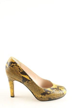 ae elegance High Heels primrose-black animal pattern elegant